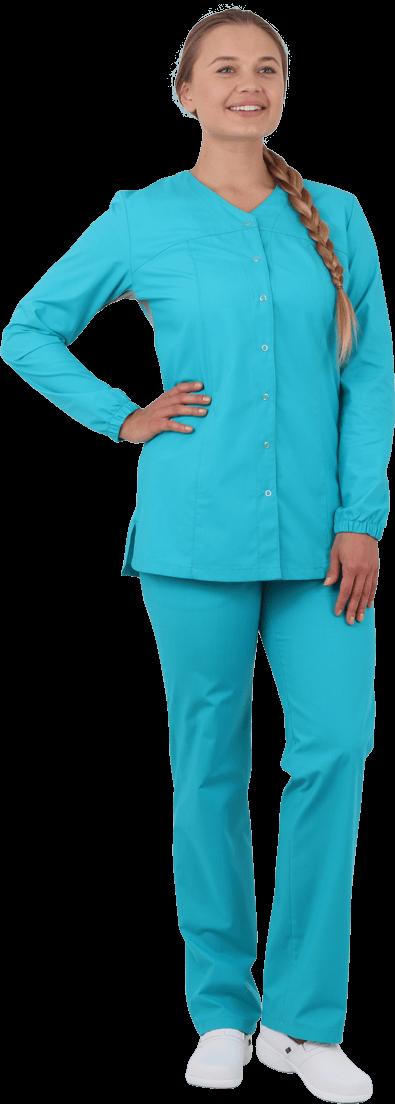 костюм женский для пищевой промышленности