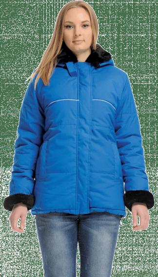 Утепленная куртка рабочая женская