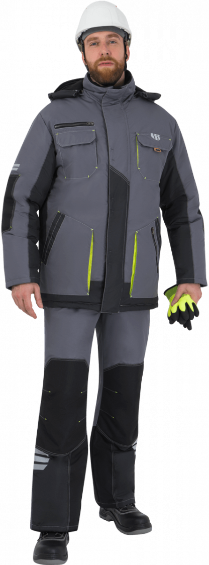 Утепленная куртка рабочая