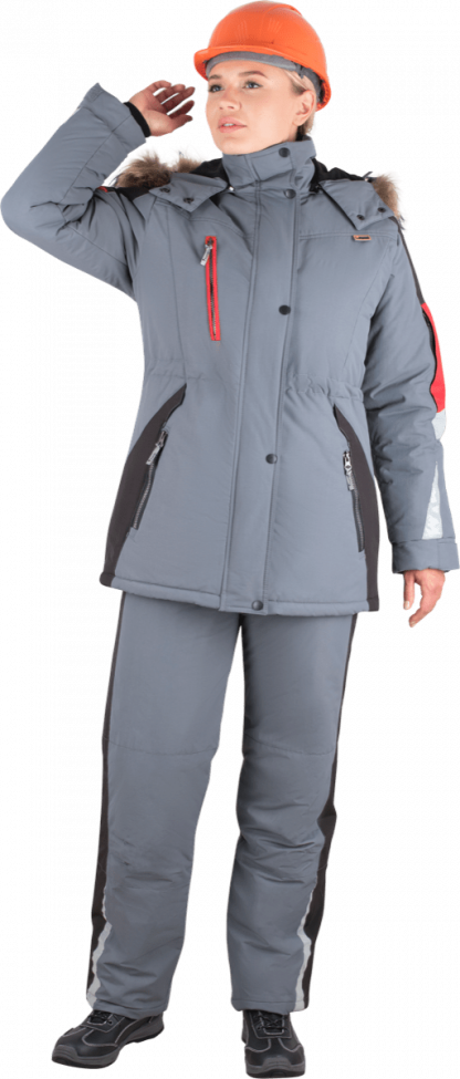 Утеплённая рабочая куртка женская