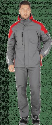 куртка штормовка респект серый красн
