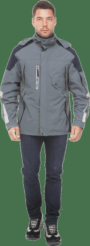 Куртка штормовка респект серая