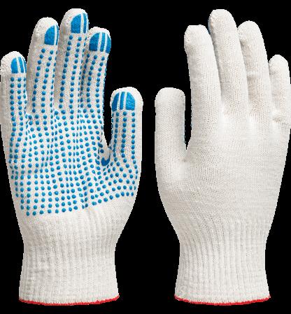 перчатки хб ПВХ