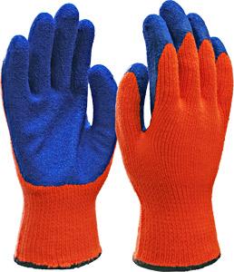 Перчатки акриловые с латексным покрытием