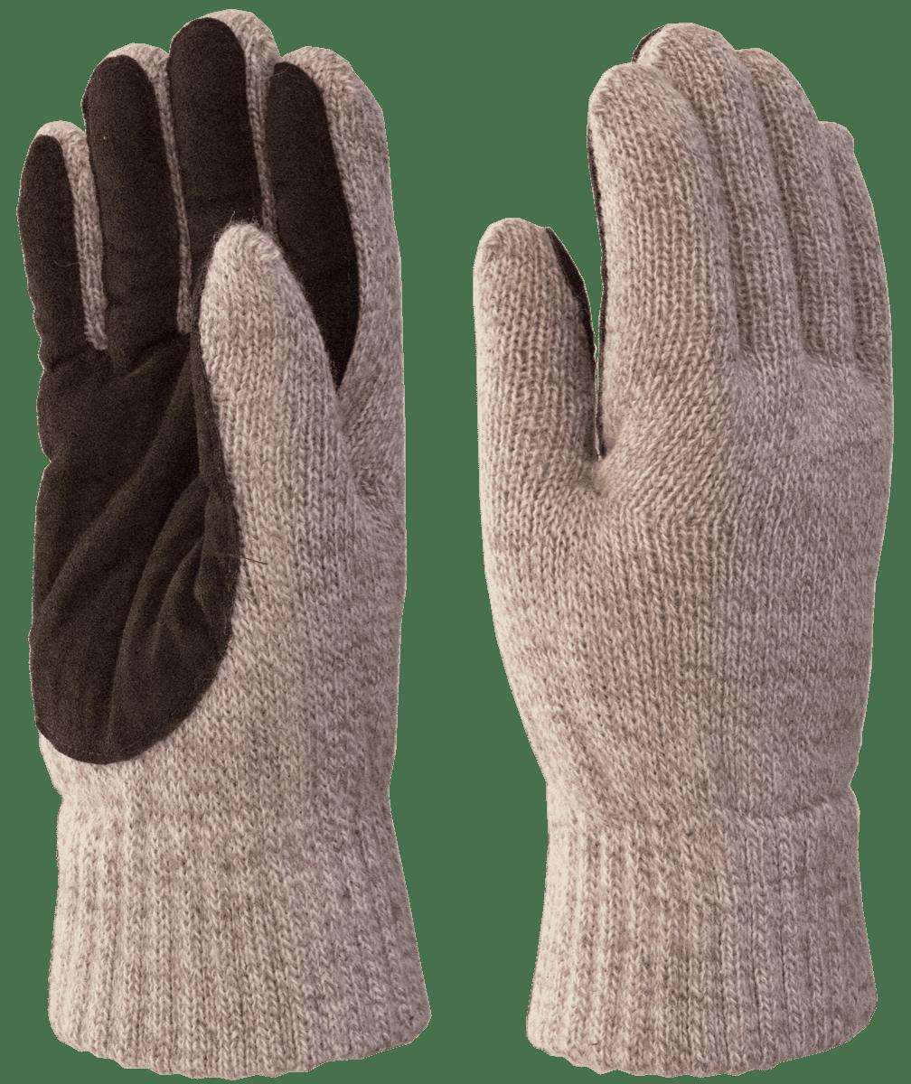 Перчатки шерсть спилок