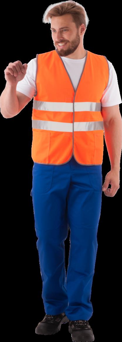 Жилет СО оранжевый